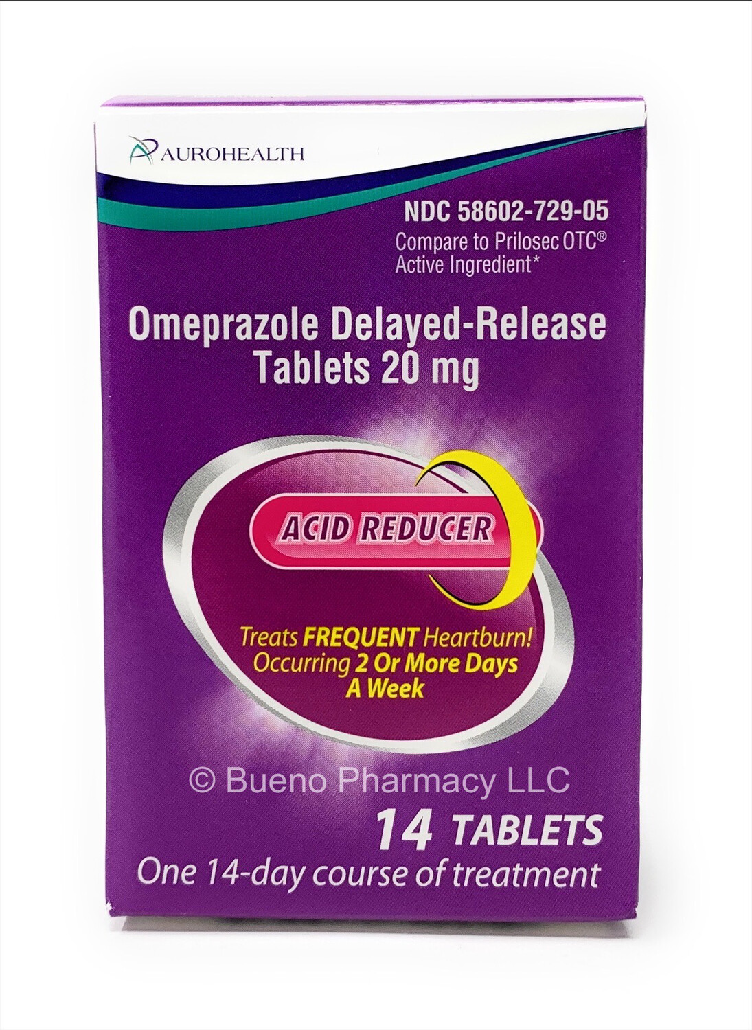 Omeprazole Delayed Release Tablets 20mg