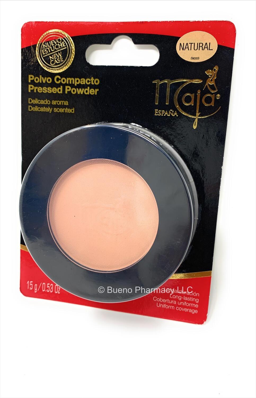 Maja Polvo Compacto Natural (Pressed Powder)
