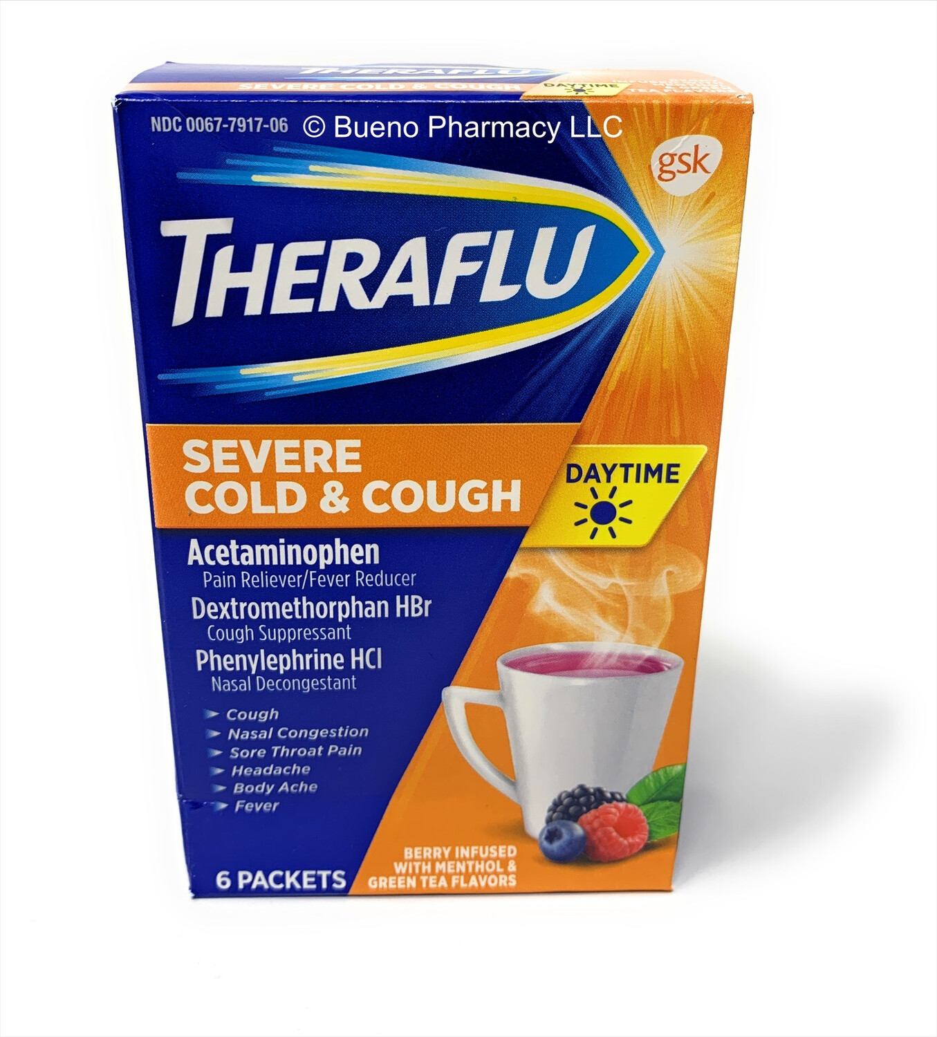 Theraflu Severe Cold & Cough (Daytime)