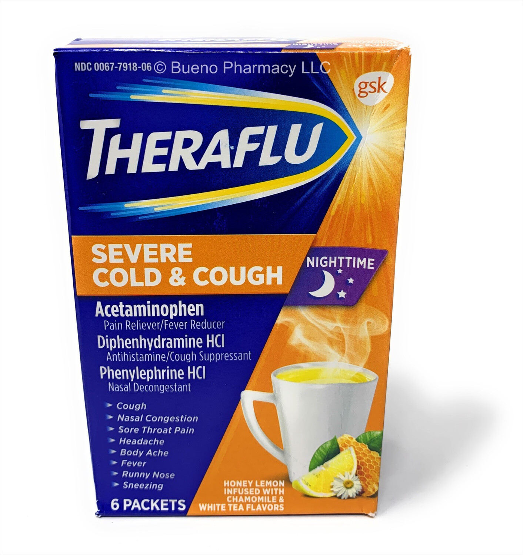 Theraflu Severe Cold & Cough (Nightime)