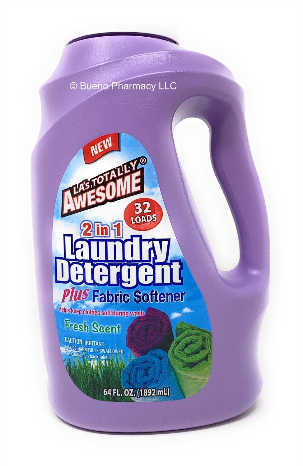 Awesome Laundry Detergent plus Fabric Softener (2 in 1)