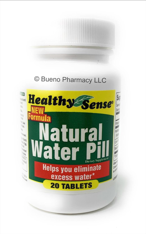 Healthy Sense Natural Water Pill (20 Tablets)