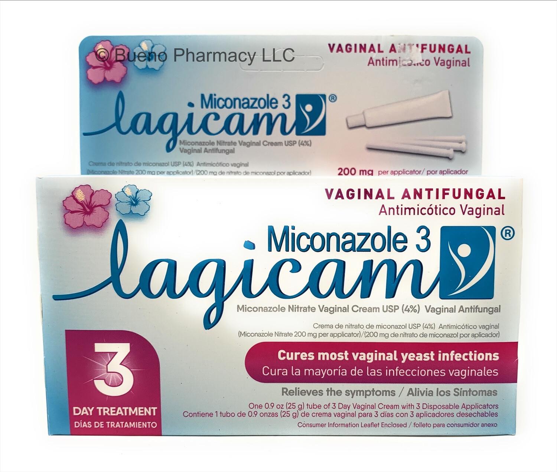 Lagicam Vaginal Cream 3 Day Treatment