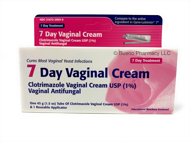 7 - Day Vaginal Cream