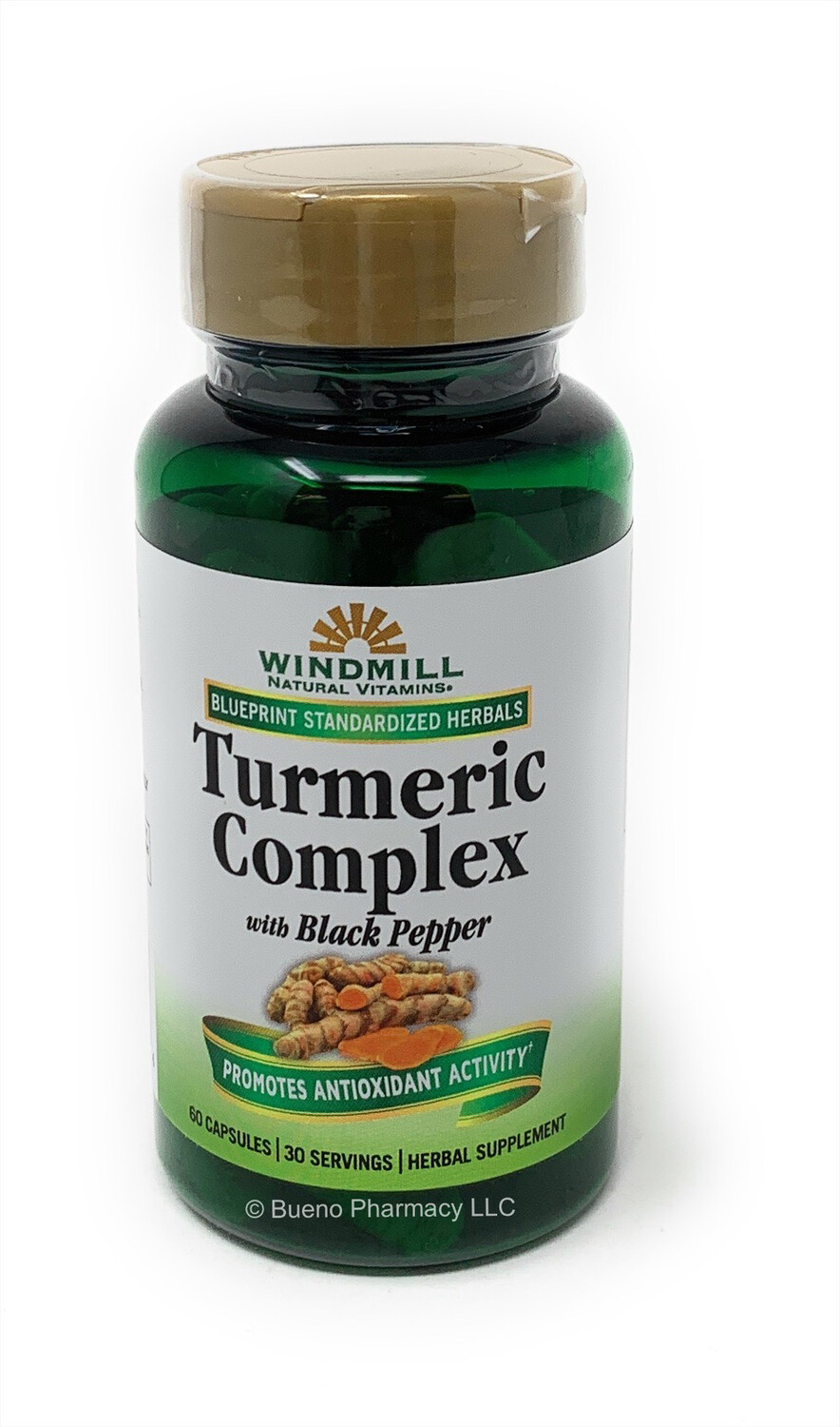 Turmeric Complex 1500mg with Black Pepper (60 Capsules)