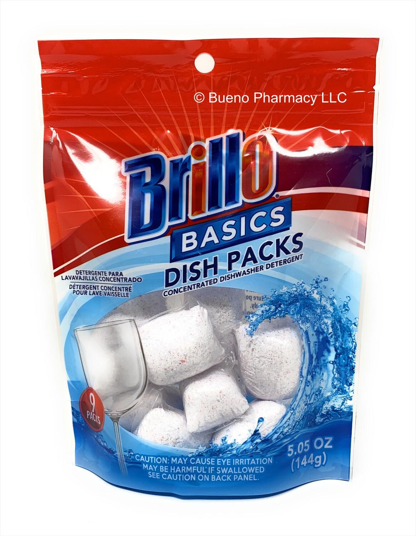 Brillo Basics Dish Packs (9 Packs)
