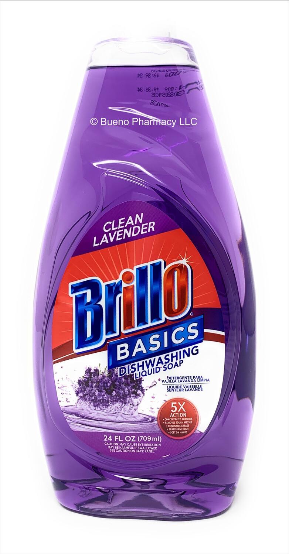 Brillo Basics Dishwashing Liquid Soap (Clean Lavender) 24oz
