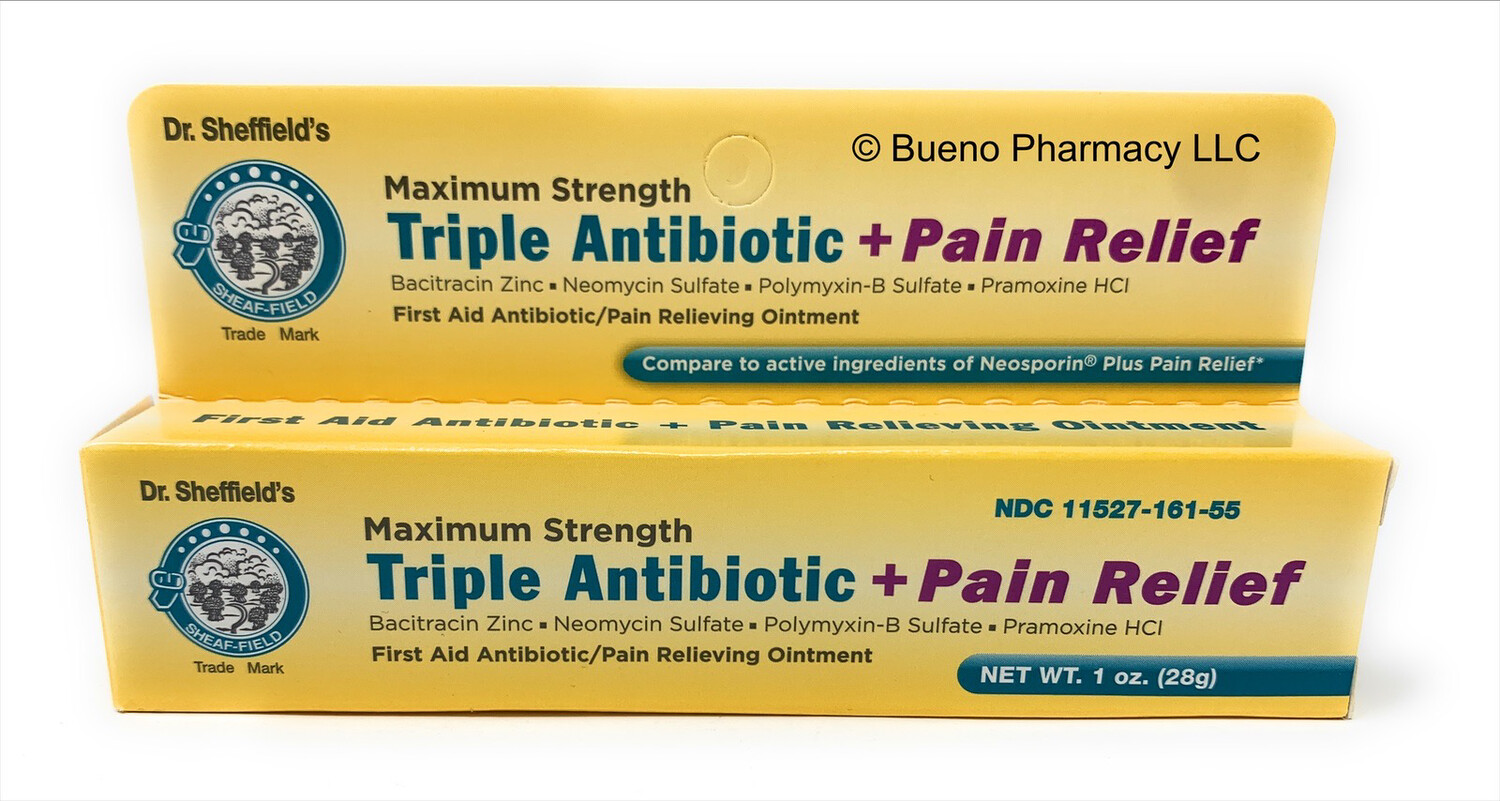 Dr. Sheffield's Triple Antibiotic + Pain Relief