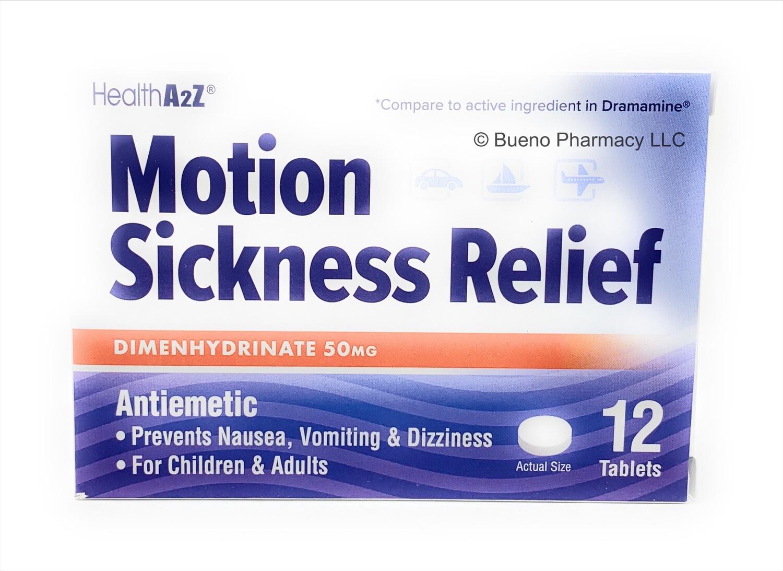 Motion Sickness Relief HealthA2Z