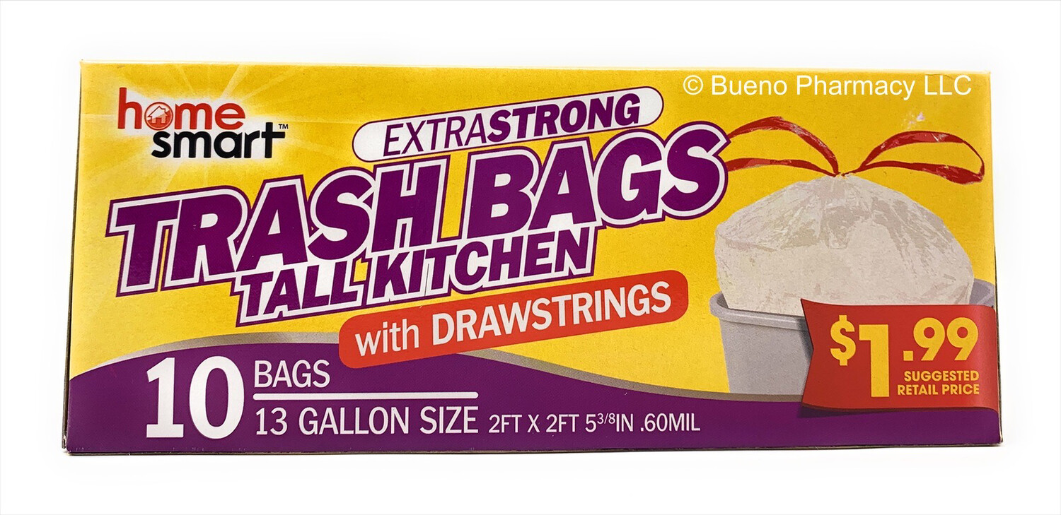 Tash Bags with DrawStings (13 Gallon Size)