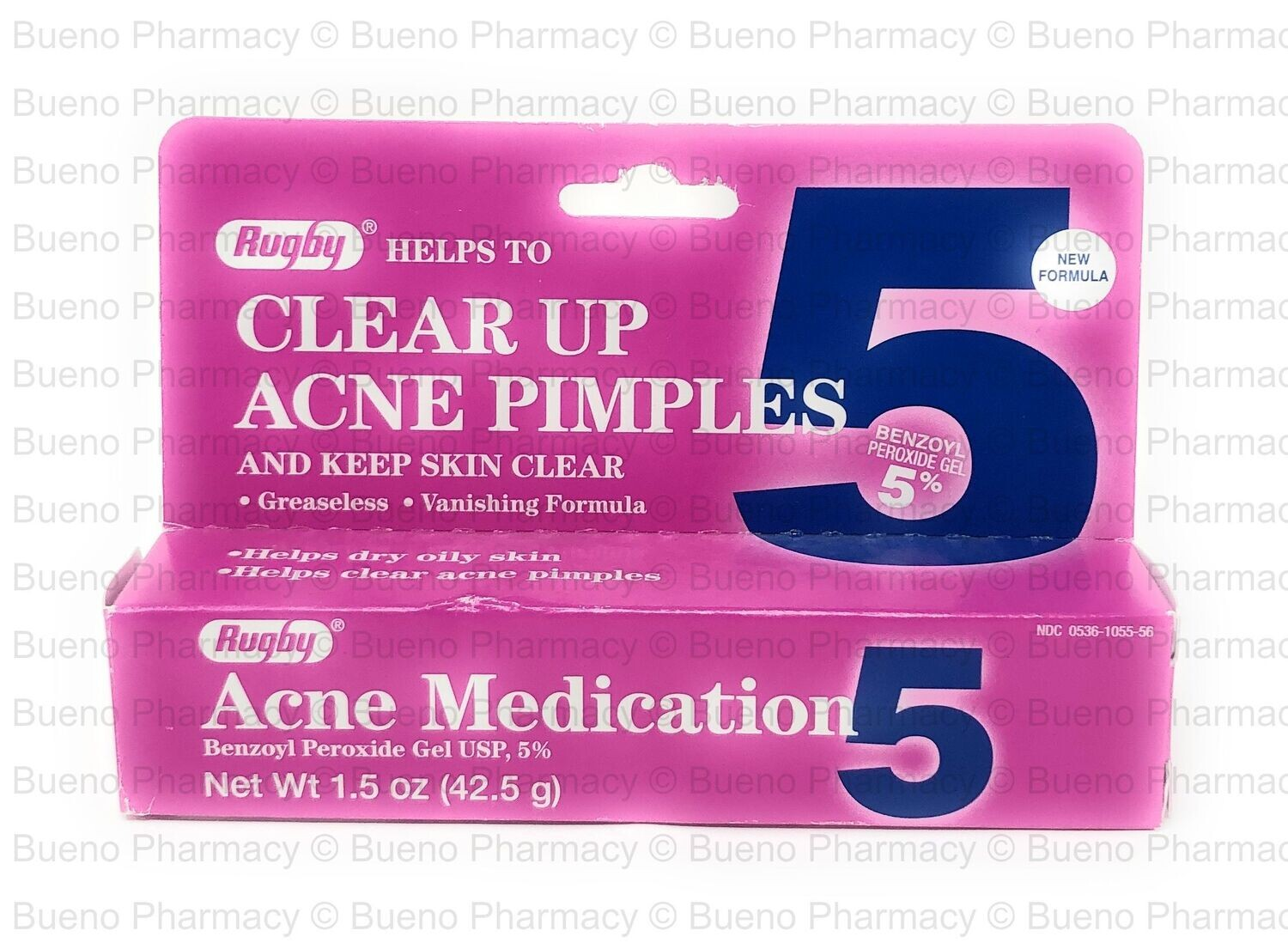 Rugby® Acne Medication 5%