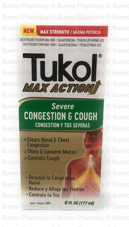 Tukol Max Severe Cough 6 Oz