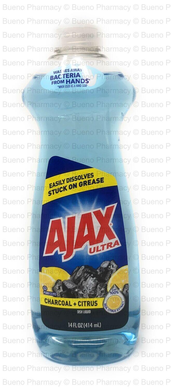 Ajax Ultra Dish Liquid (Charcoal + Citrus)