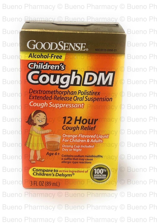 GoodSense Children's Cough DM 3oz. Orange Flavor