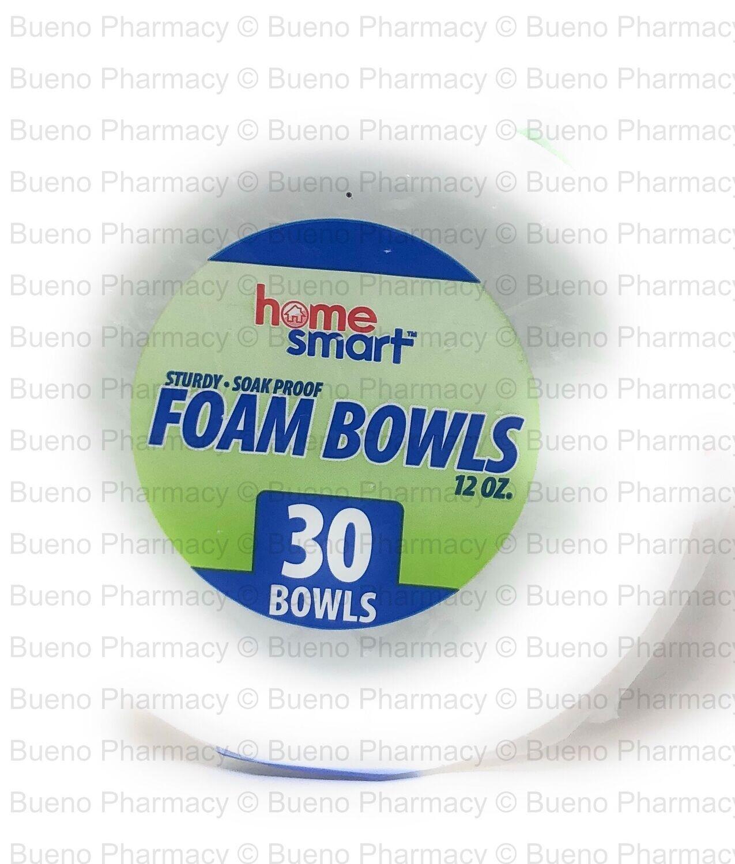 Foam Bowls 12oz (30 Bowl)