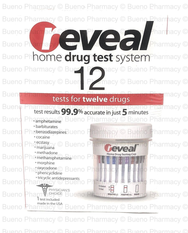 Reveal Home Drug Test System (Test for twelve drugs)