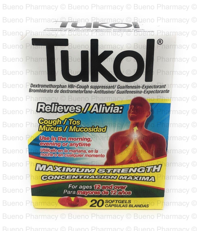 Tukol Soft Gels 20s