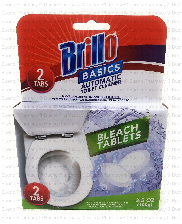 Brillo Basics Bowl Bleach Tablets (2Tablets)