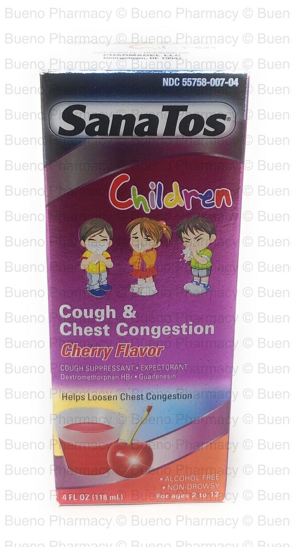 Sana Tos Children Cough & Congestion (Cherry Flavor)