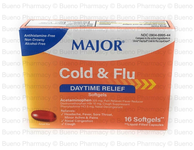 Major Daytime Cold & Flu  (16 SoftGel Cap)