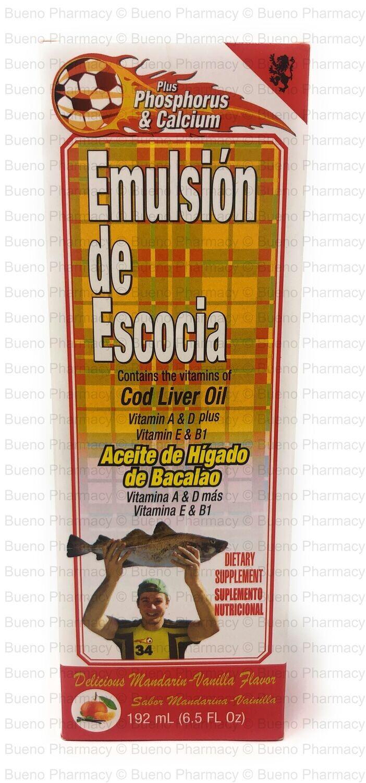 Emulsion De Escocia Mandarin-Vanilla Flavor