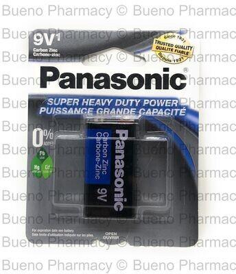 Batteries Panasonic HD 9V 1PK