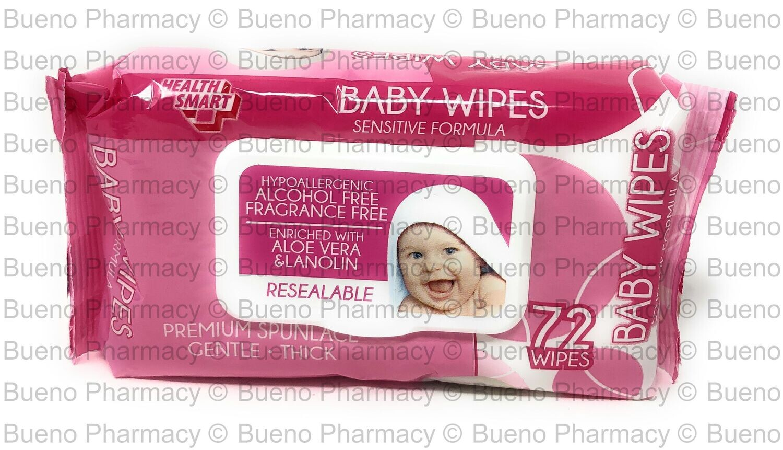 H.S. Baby Wipes Sensitive Formula (Pink)