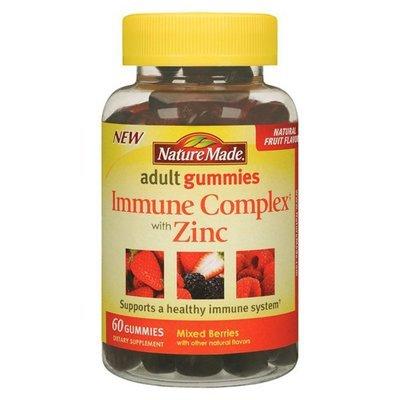 IMMUNE CMPLX ZINC ADULT 60 GUMMIES