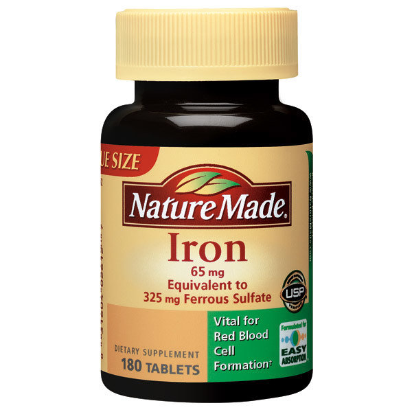IRON 65MG 180 TABLETS