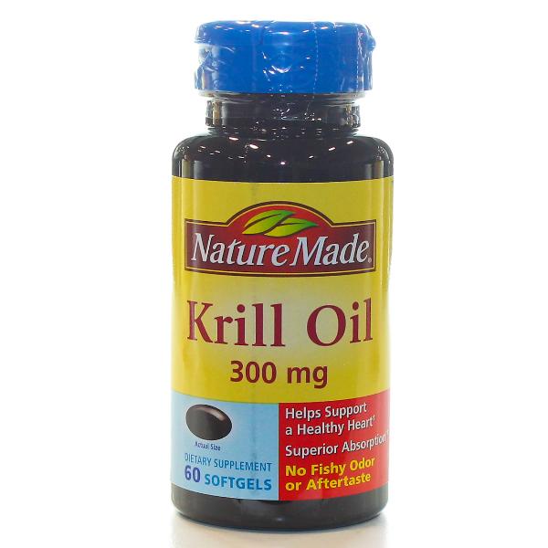 KRILL OIL 300MG 60 SOFTGELS
