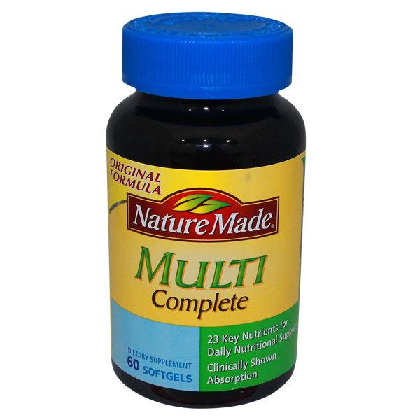 MULTI COMPLETE 60 S0FTGELS