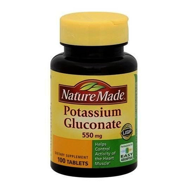 POTASSIUM GLUC 550MG 100 TABLETS