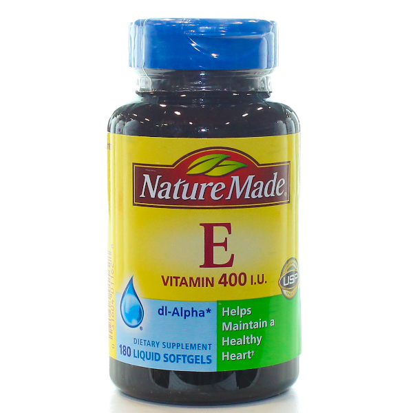 VITAMIN E 400IU DL-ALPHA 180 SOFTGELS