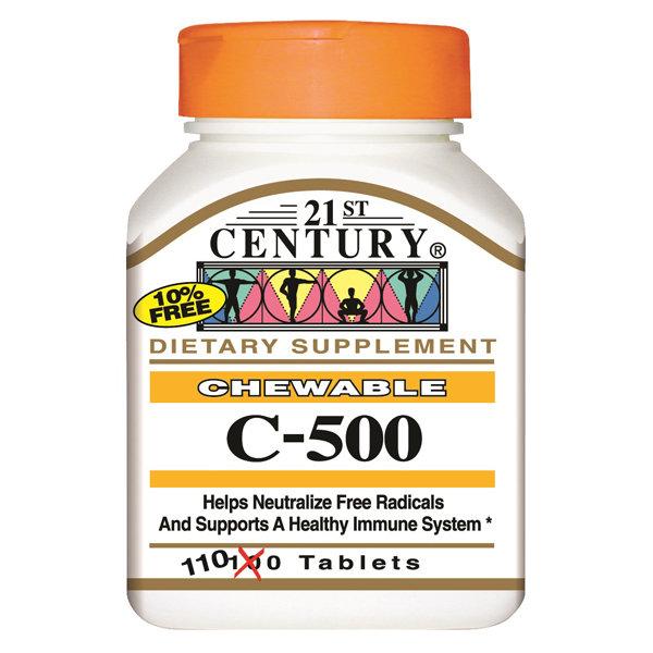 Vitamin C 500 mg 20 Tablets