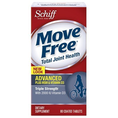 MOVE FREE ADVANCED+ MSM & VITAMIN D