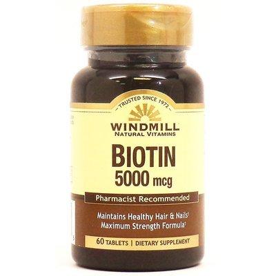 Biotin 5000mcg   60 Tablets