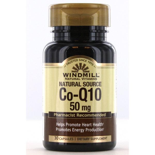 Co-Q10 50mg  30 Capsules
