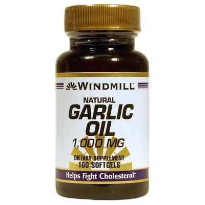 Garlic 1000 mg. 100 Softgels