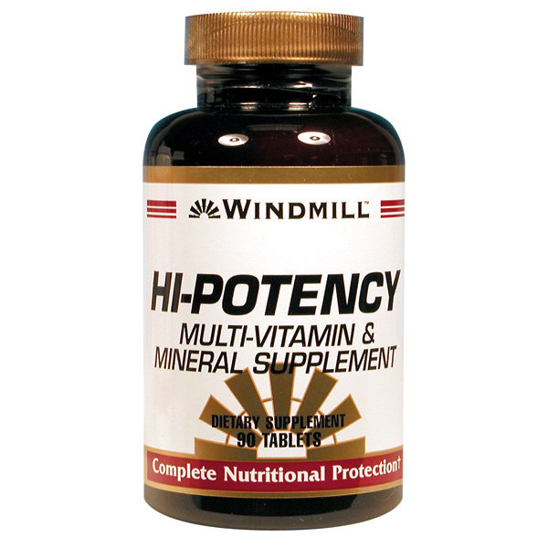 Hi- Potency Multi- Vitamin & Mineral   90 Tablets
