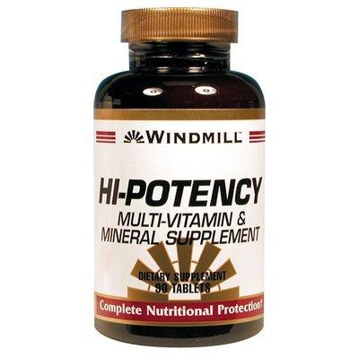 Hi- Potency Multi- Vitamin & Mineral   90 Tablets
