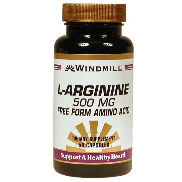 L- Arginine Hci 500 Mg 50 Capsules