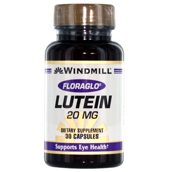 Lutein 20mg 30 Capsules