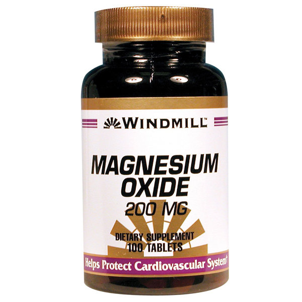 Magnesium ( Oxide & Carbonate ) 400mg     100 Tablets