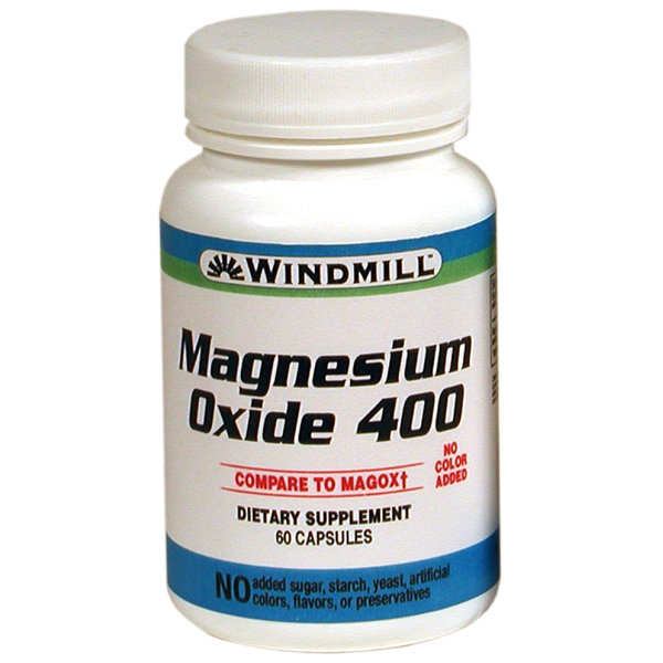 Magnesium Oxide 400     60 Tablets