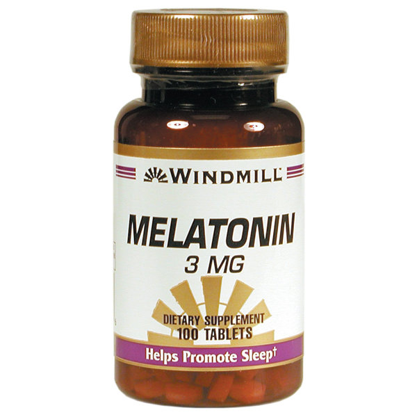 Melatonin 3mg   100 Tablets