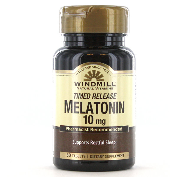 Melatonin 10mg Timed Release    60 Tablets
