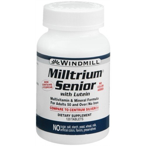 Milltrium Senior With Lutein   60 Tablets