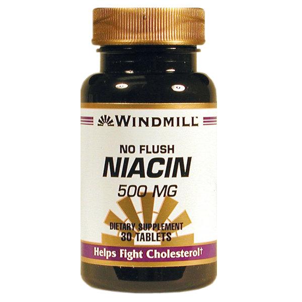No Flush Niacin. 500 Mg    30 Tablets