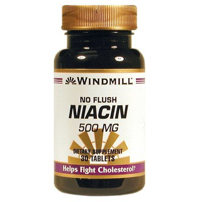 No Flush Niacin. 500 Mg    30 Tablets