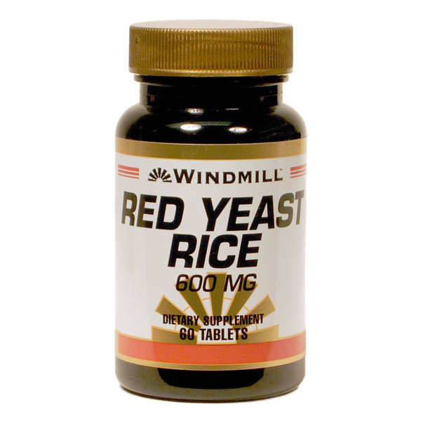 Red Yeast Rice 600mg 60 Tablets